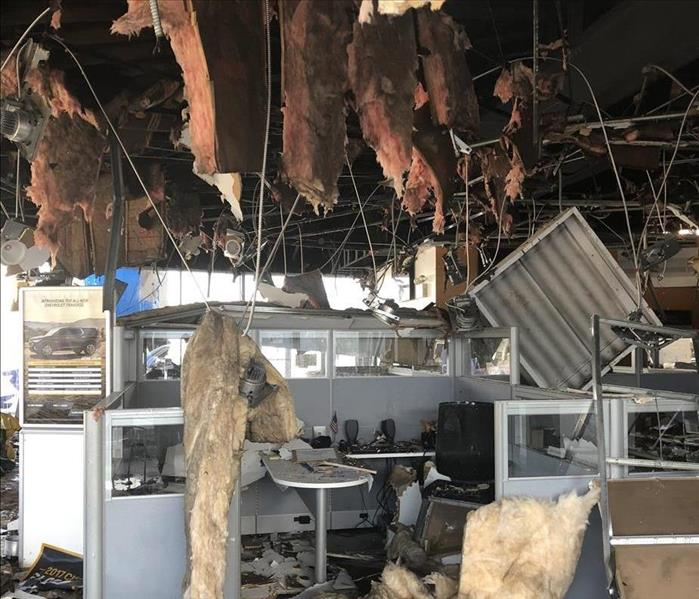 Even Large Businesses Have Water, Fire and Mold Emergencies! Before