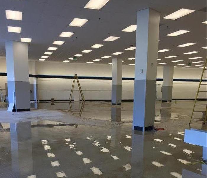 Department Store Calls in SERVPRO Before