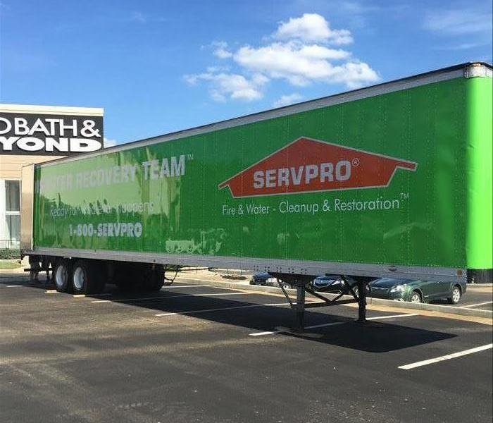Department Store Calls in SERVPRO After