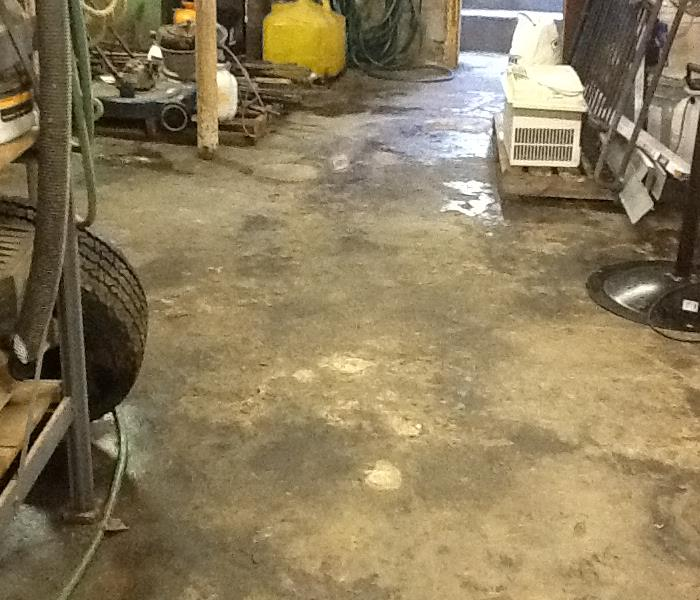 Flooded Workshop After