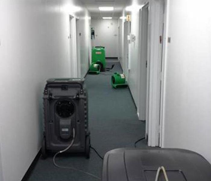 Water Damage in Trenton Office Building