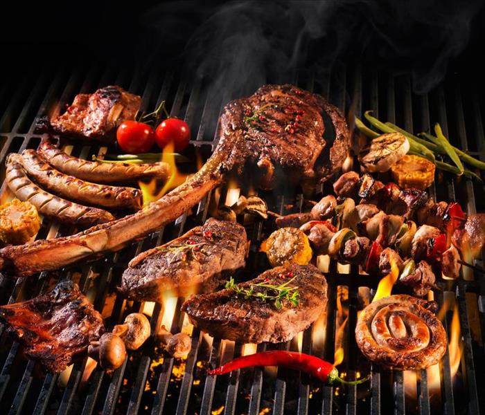 Fire Damage Top 6 Grilling Safety Tips