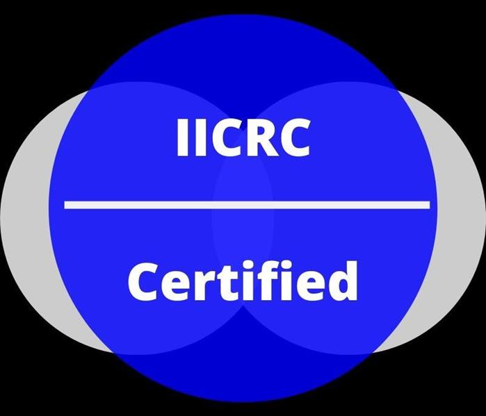 Logo of The Institute of Inspection, Cleaning and Restoration Certification (IICRC)